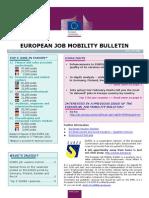 European Job Mobility Bulletin Nº 8  (01/03/2013)