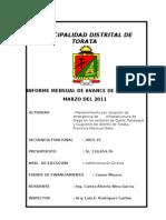 Informe Mensual Mantenimiento QPC