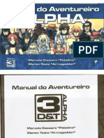 3D&T Alpha - Manual Do Aventureiro