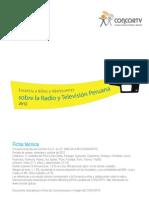 Encuesta a niños y adolescentes sobre la radio y televisión peruana 2012 | Resumen