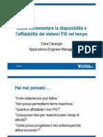 Come Incrementare la disponibilità e affidabilità dei sistemi PXI nel tempo