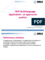 LabVIEW Multi Language Application Un Approccio Pratico