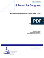 North Korean Provocative Actions, 1950 - 2007 30004