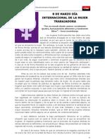 8 DE MARZO DÍA INTERNACIONAL DE LA MUJER TRABAJADORA (1)