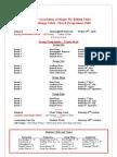 AMFC Programme 2009
