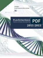 Plan Estrategico 2011 2015 Ciencia y Tecnologia
