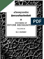 C Pandey Doctrine of Divine Recognition VolIII
