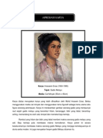 Apresiasi Karya Hoessein Enas-Gadis Melayu