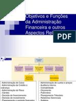 AULA 3Objetivos e Funções da Administração Financeira e outros