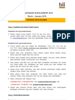 BII MF Scholarship - 004 Instruksi Melamar 2012-13