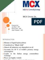 MCX Crude.pptx