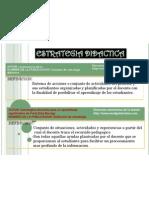 2.- Concepto de Estrategia Didactica