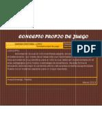 4.- Concepto Propio de Juego