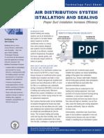 Doe Airdistributionsysteminstallation