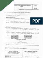 NBR 7183 Limite de contração