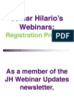 JH Webinar Registration Process