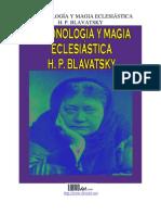Blavatzky - Demonología y magia eclesiástica