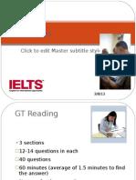 IELTS GT Reading