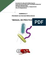 Manual de Practicas Procesar Cultivos Bacteriologicos 2013