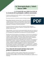 Noticias Neuropsicologia Salud