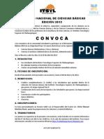 XX EVENTO NACIONAL DE CIENCIAS BÁSICAS EDICIÓN 2013