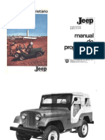 Jeep CJ5 Owner's Manual (Portuguese BR)