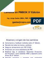 PMBOK 5 Ed Cambios p Particpantes