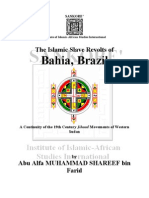 The Islamic Slave Revolts of Bahia