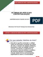Leitura&AnaliseObrasArte_Maio2011