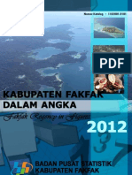 Fakfak Dalam Angka 2012