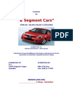 Automobile SYNOPSIS