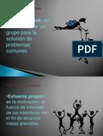 VALORES COOPERATIVOS