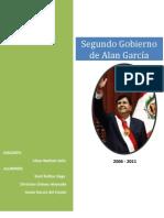 Segundo Gobierno de Alan Garcia