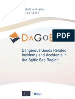 Dangerous Goods Related Incidents and Accidents in the Baltic Sea Region PDF Final