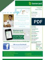 Bartercard Brisbane South E-Trader 8-3-13