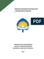 07.Buku Pedoman Pelaksanaan Penulisan Laporan KP