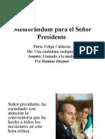 DDresser_Memorandum