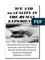 Love and Sexuality in the Human Experience