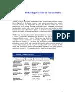 Industry Checklist - Tourism