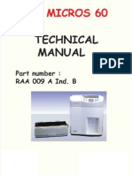 Horiba ABX Micros 60 - Technical Manual 2