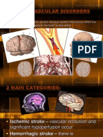 Cerebrovascular Disorder