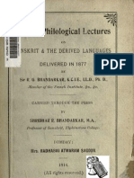 Bhandarkar Lectures1914