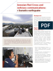 Indonesia Earthquake Response 2012 by Indonesia Red Cross Society