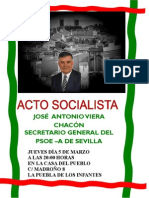 Cartel Visita Jose Antonio
