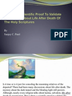 Is There A Scientific Proof To Validate The Claims About Life After Death Of The Holy Scriptures