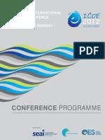 ICOE2012 Programme Final
