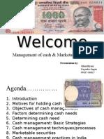 Cash Management Gs