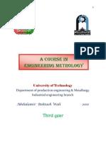 Metrology 3rd Industrial