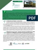 CONFINTEA Bulletin 1 Feb09 Spanish