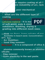 Electrode & Welding Defects